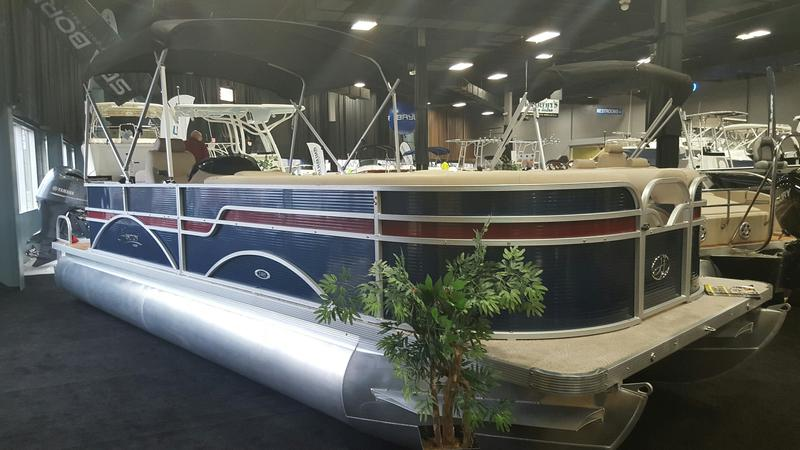 2016 Hampton 2485 XLT Pontoon Boat